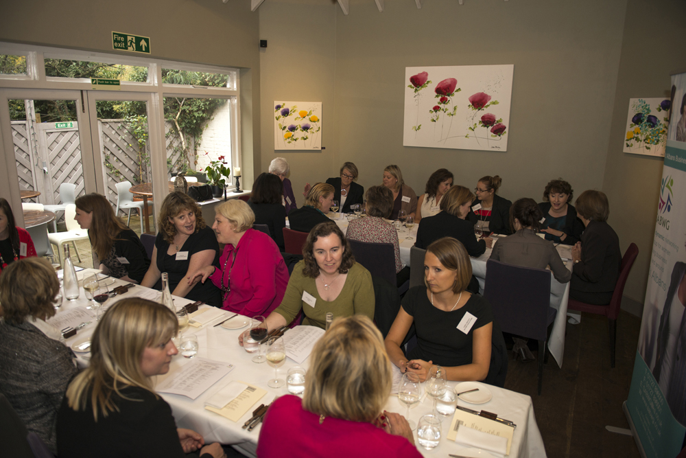 Image of ladies lunching at Thompson St Albans