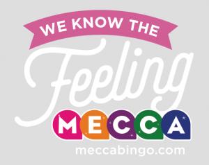 A sign of Mecca Bingo