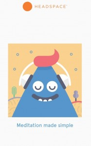 App of the week, headspace cartoon