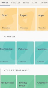 App of the week: headspace packages