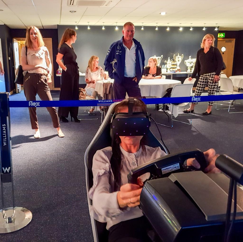 Wiliams - Entertainment - racing simulator