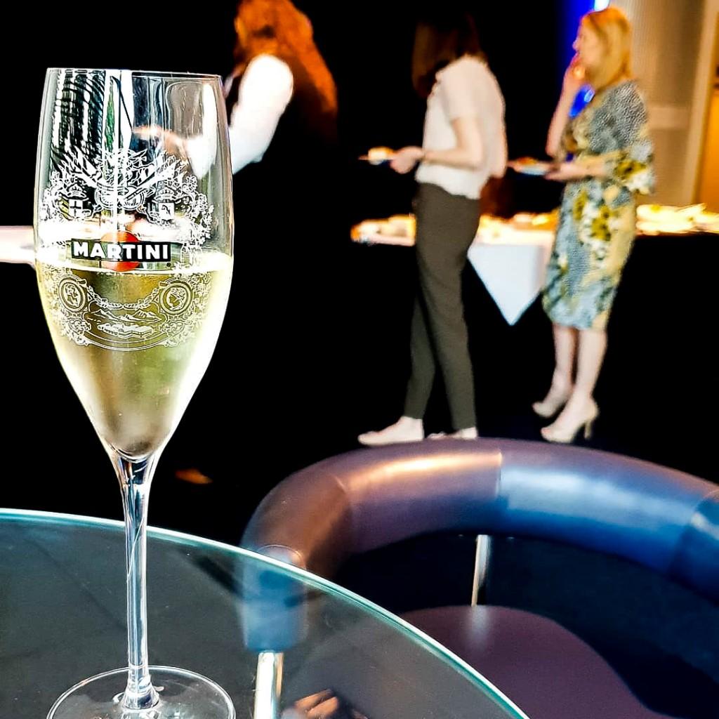 Williams - Martini fizz and Dinner