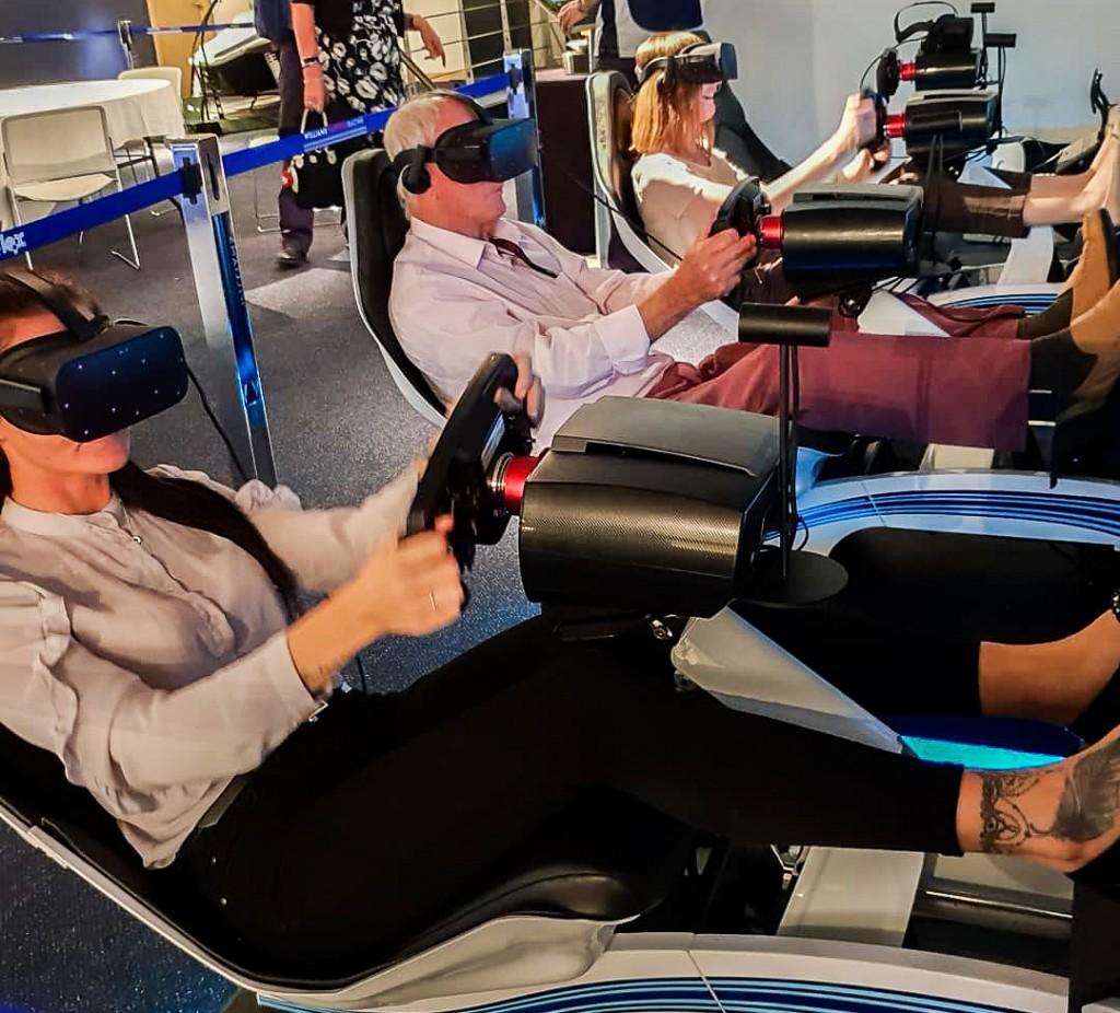 Williams F1 race simulators