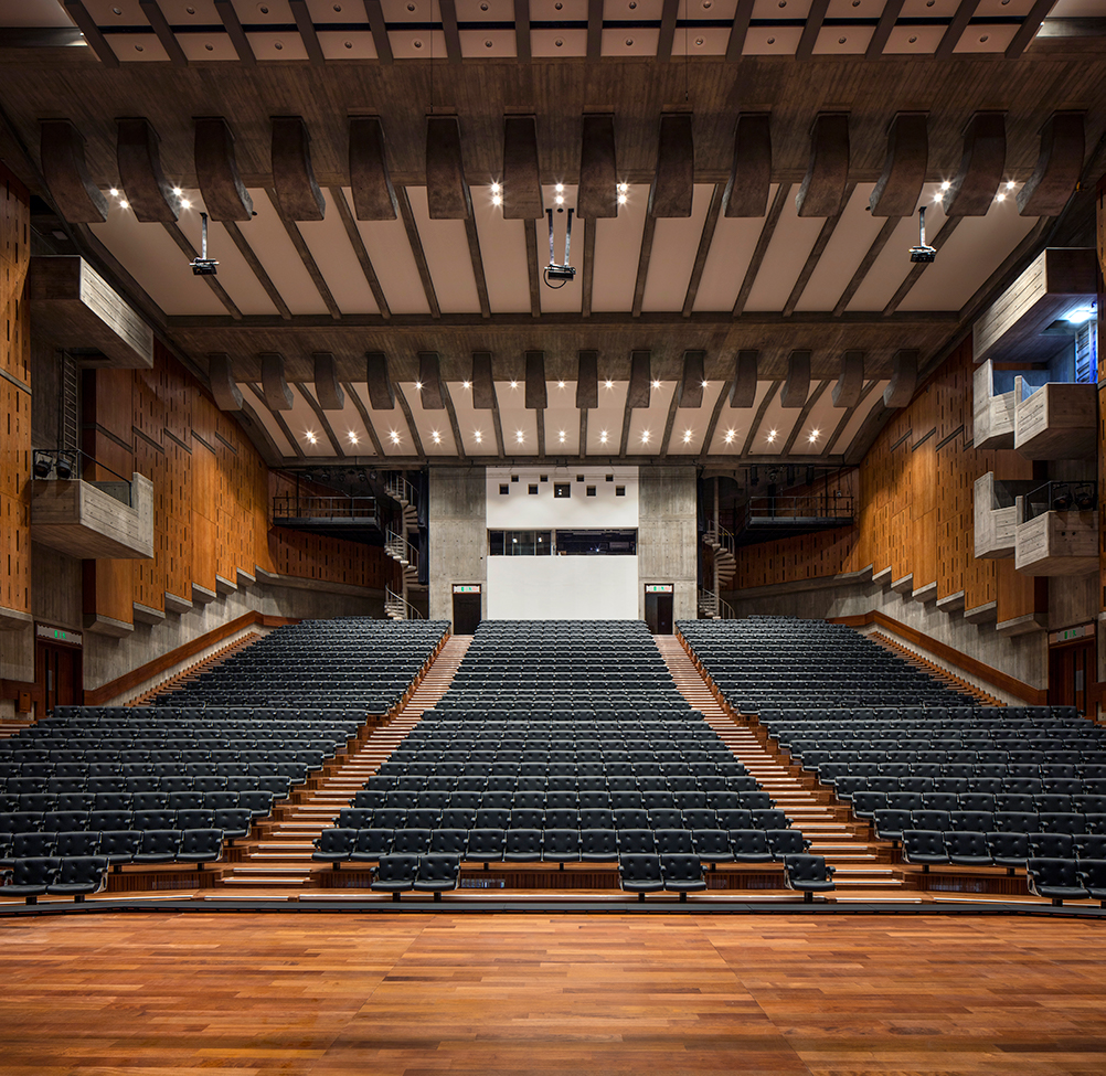 Refurbished Queen Elizabeth Hall. Photo Credit Morley Von Sternberg