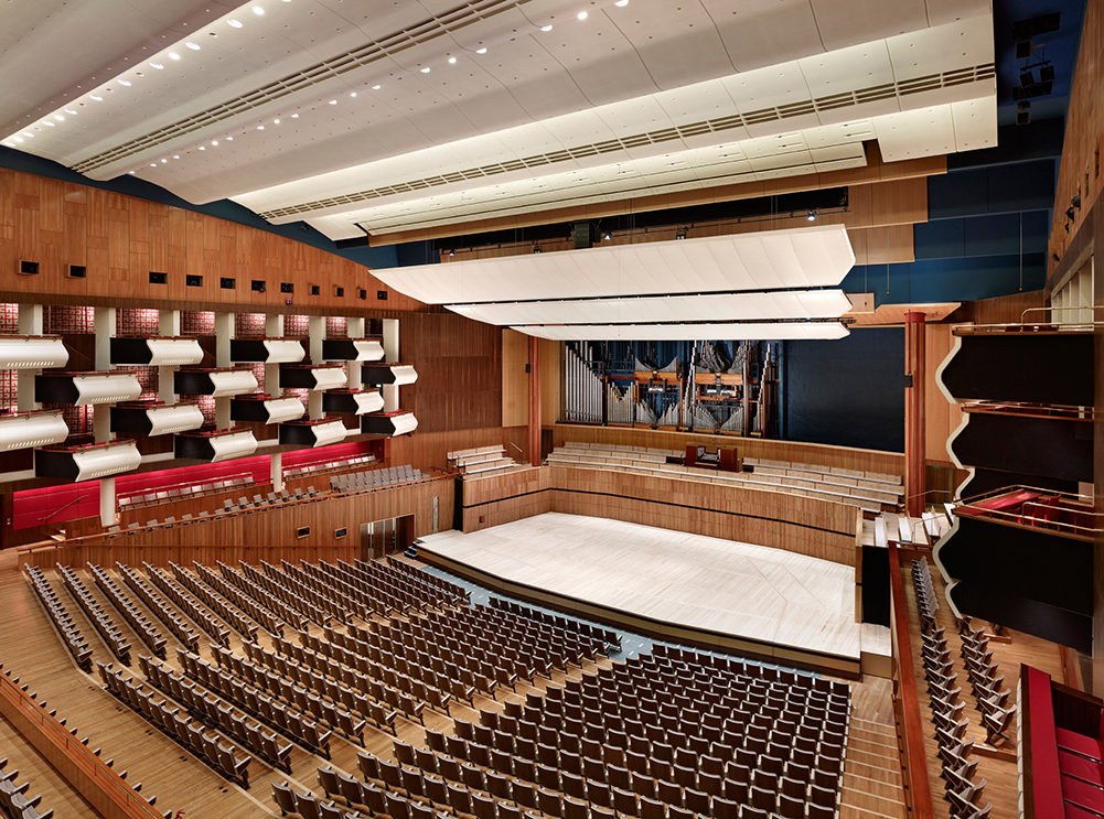 Royal Festival Hall organ with central section installed credit Nick Rochowski 3