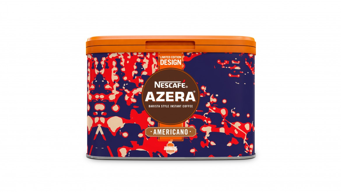 500g Azera by Design Rush Hour Tin - Nestlé Professional