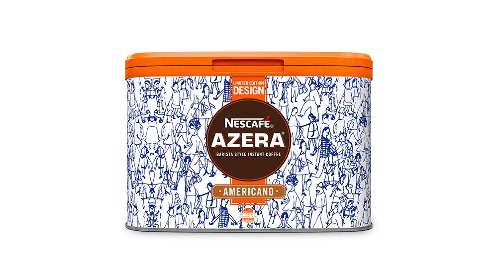 500g Azera by Design Urban Walk Tin - Nestlé Professional