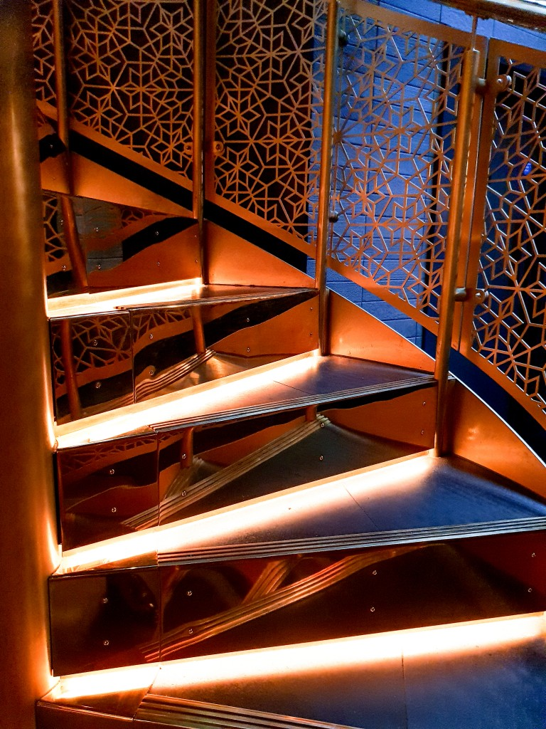 Indian Accent - Staircase to private dining room