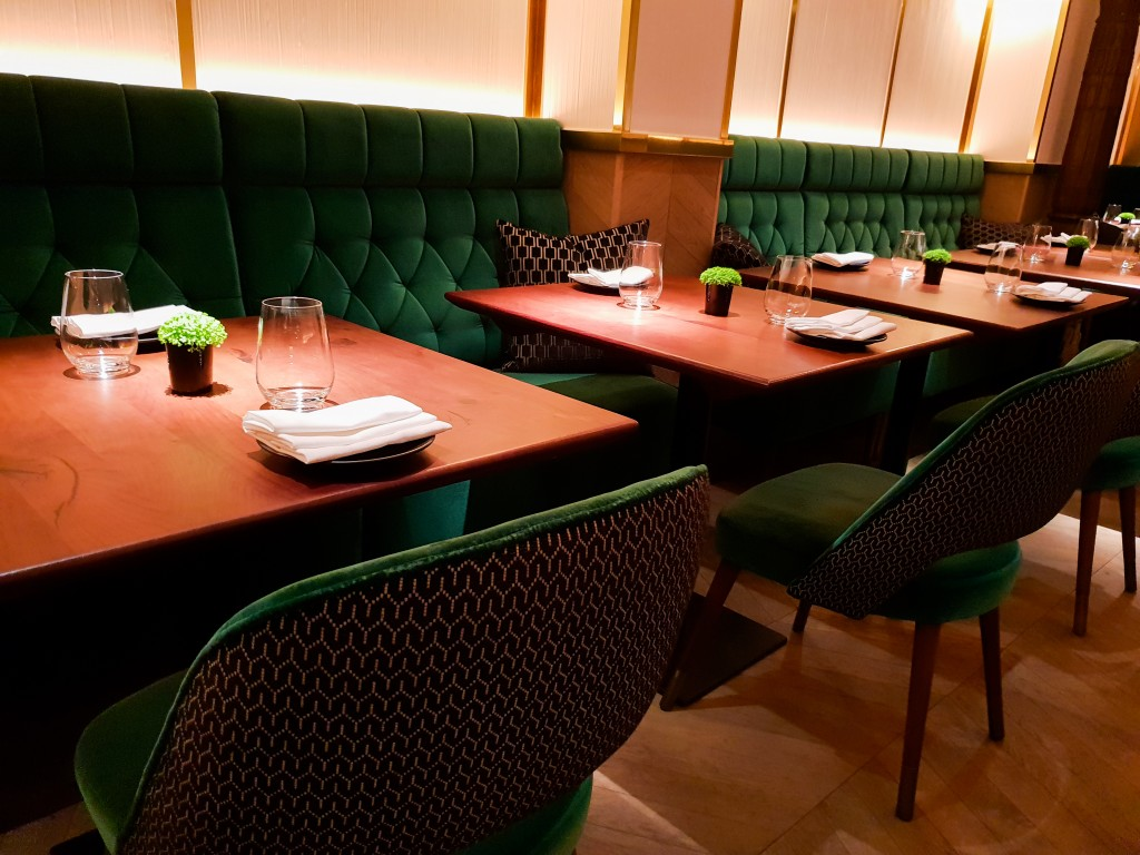 Indian Accent - Private dining room
