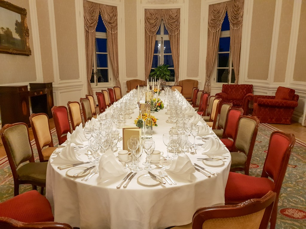 Luton Hoo - Private Dining Table