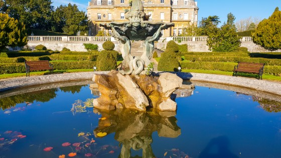 Luton Hoo - From the gardens