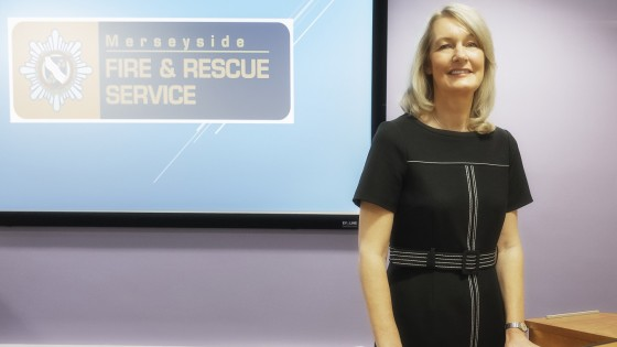 Sandra Wainwright, EA at Merseyside Fire & Rescue