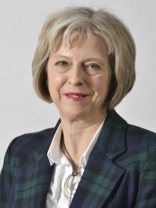 Prime Minister Theresa May headshot