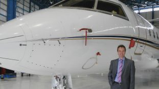 Terry London Jet Charter with plane